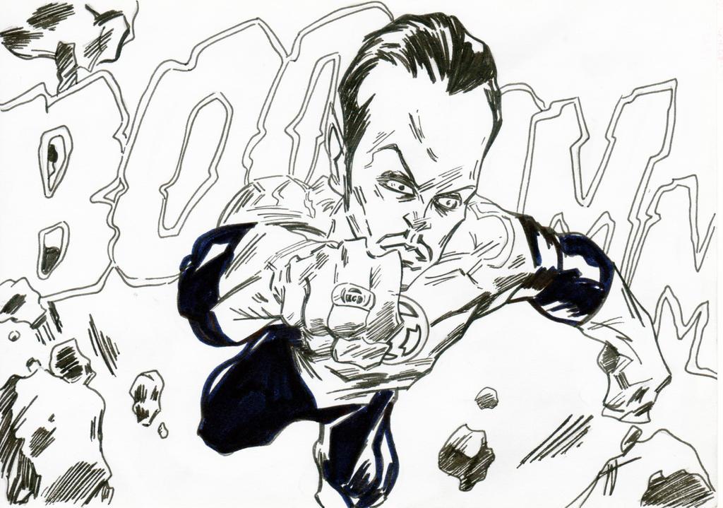 Sinestro by jacksony22