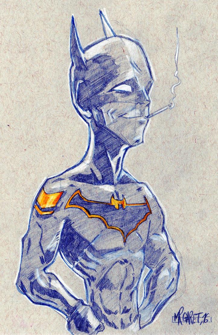 Comissioner Batman by jacksony22