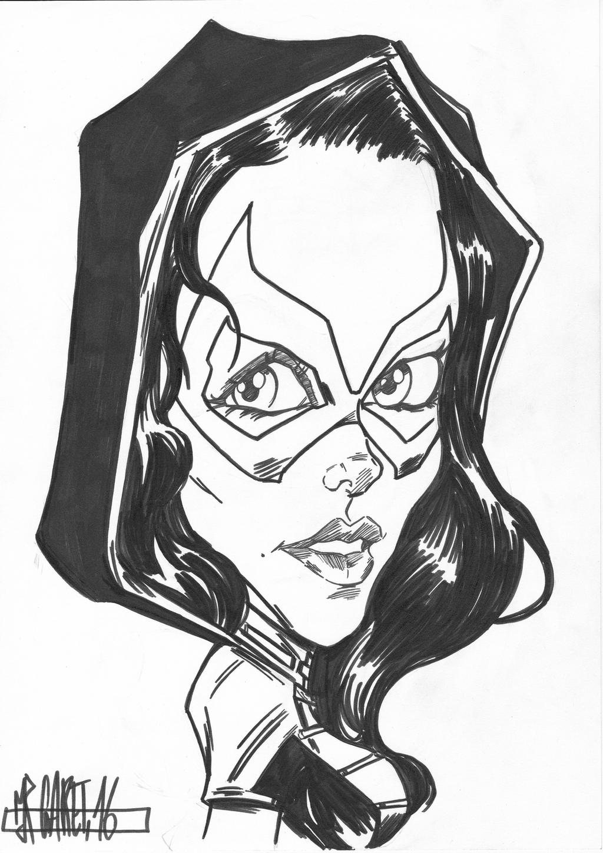 Peta / The Huntess Caricature by jacksony22