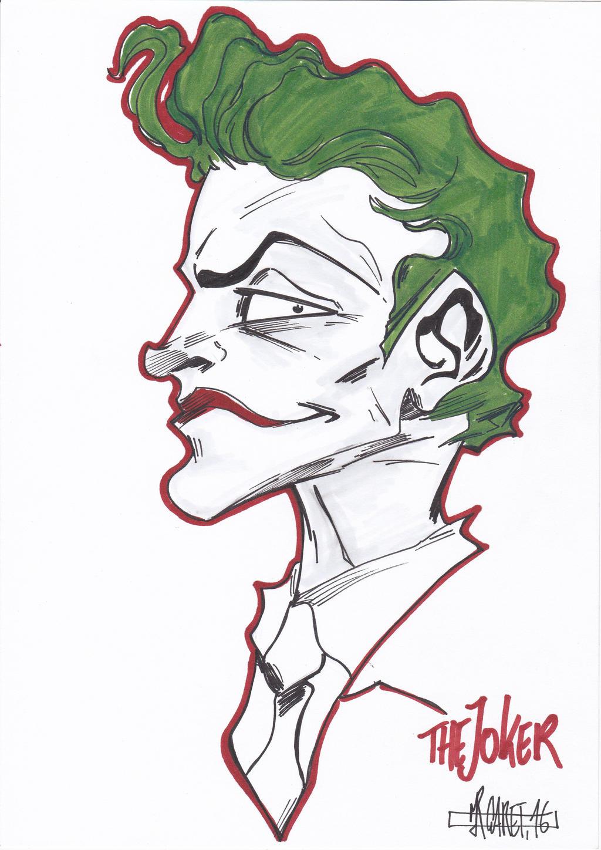 Dark Knight Joker by jacksony22