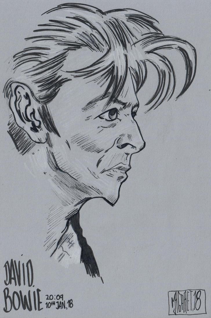 David Bowie by jacksony22