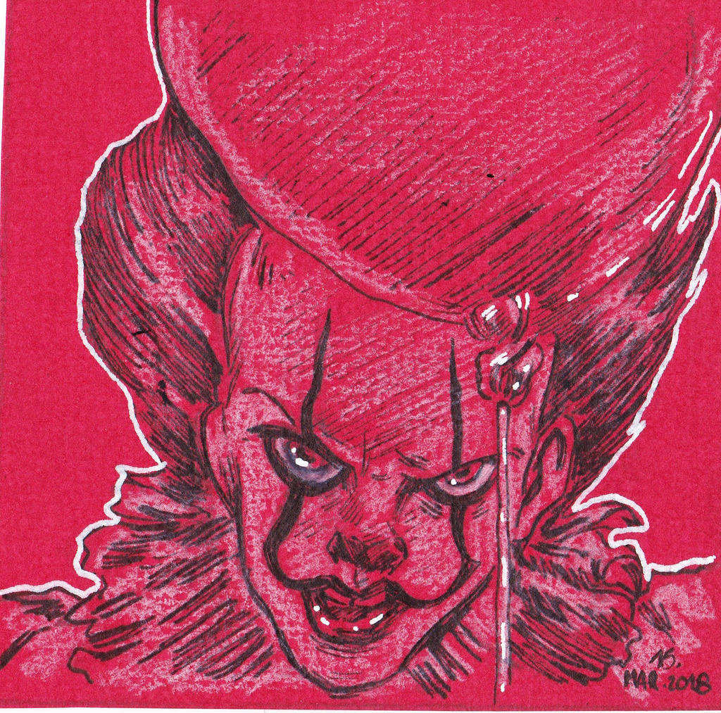 Pennywise Red card edition by jacksony22