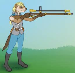 Alekka character sketch by Crowflux