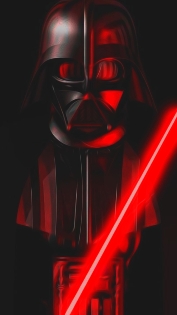Darth Vader Wallpaper For Phone By TobimoYD