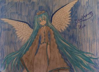 Miku Hatsune Angel by Evil-Alice8