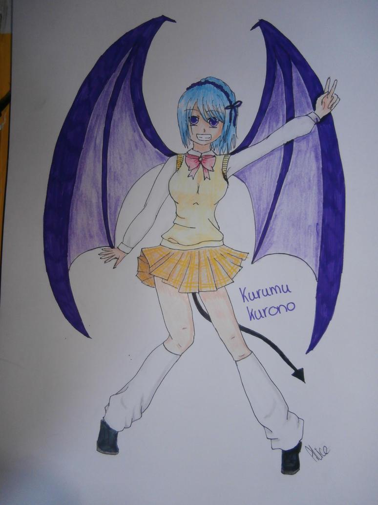 kurumu kurono by Evil-Alice8