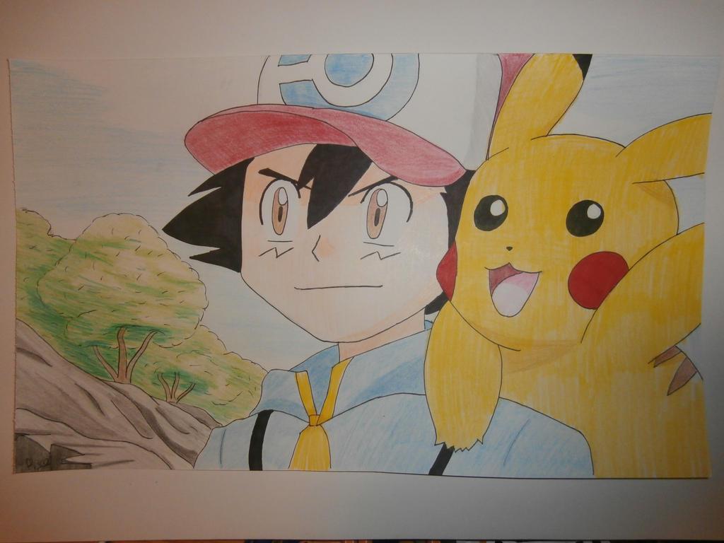 Evil Pikachu And Ash Evil Pikachu And Ash