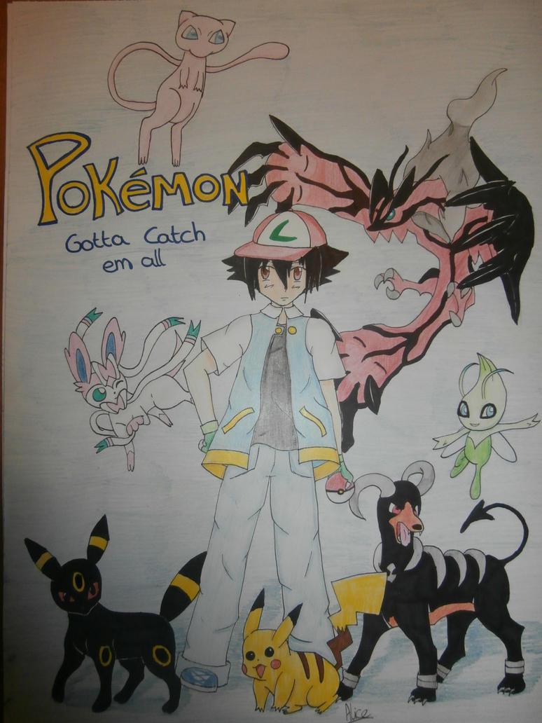pokemon gotta catch them all by Evil-Alice8