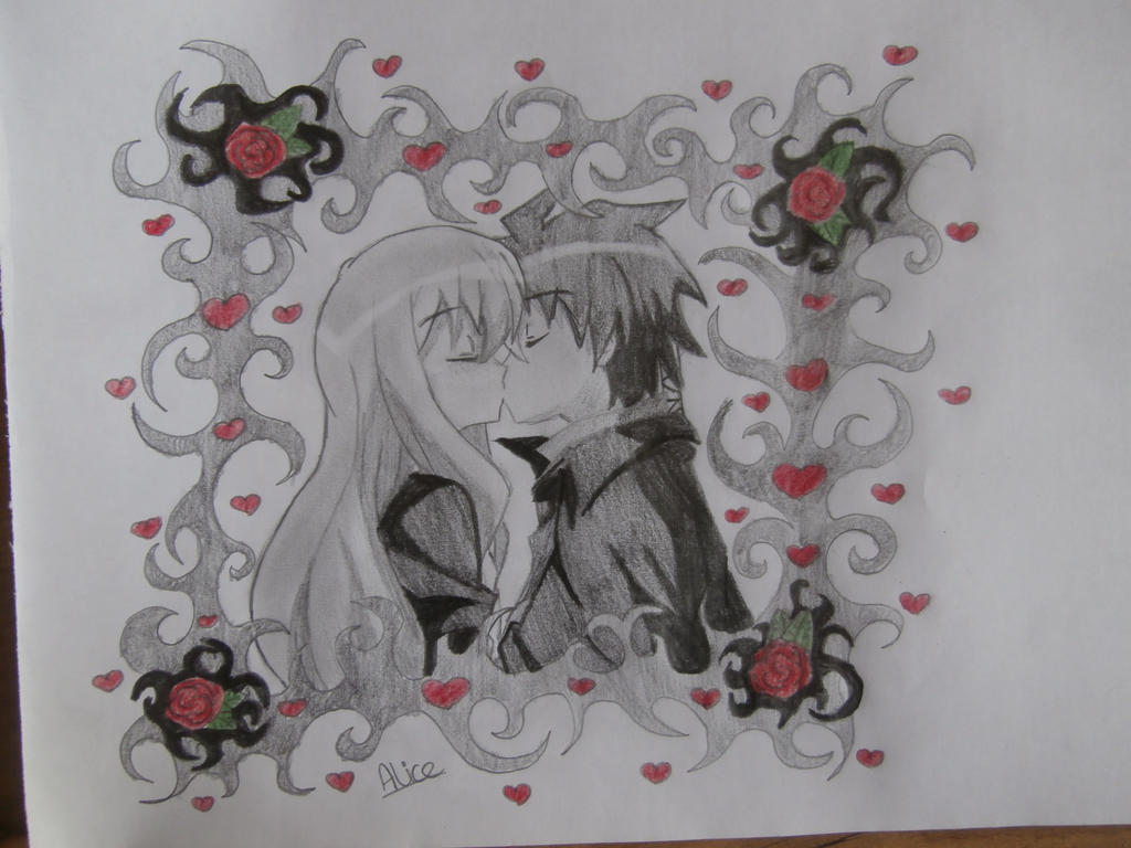 Saito and Louise by Evil-Alice8