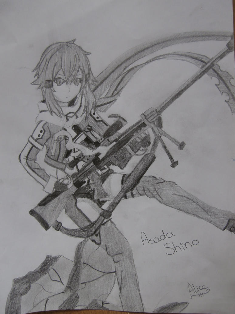 Sinon by Evil-Alice8