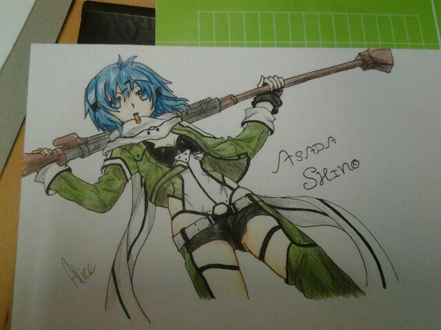 Asada Shino by Evil-Alice8