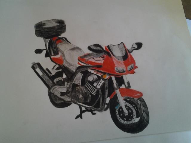 Motor drawing by Evil-Alice8