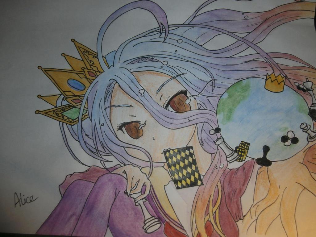 Shiro no game no life by Evil-Alice8