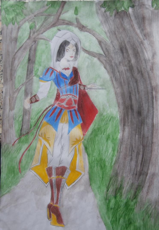 Assasins snow white by Evil-Alice8
