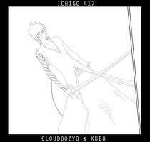 Ichigo 417 Lineart