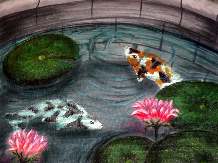 Koi Pond by scott-mao