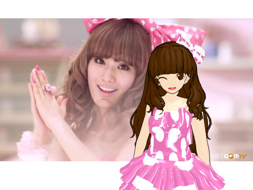 MOTME - Orange Caramel * Magic Girl by justforcontest