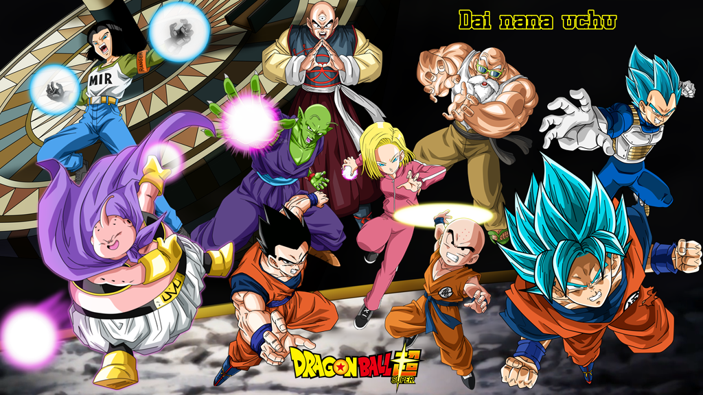 Universo 7 Torneio do Poder by Dragonball1995