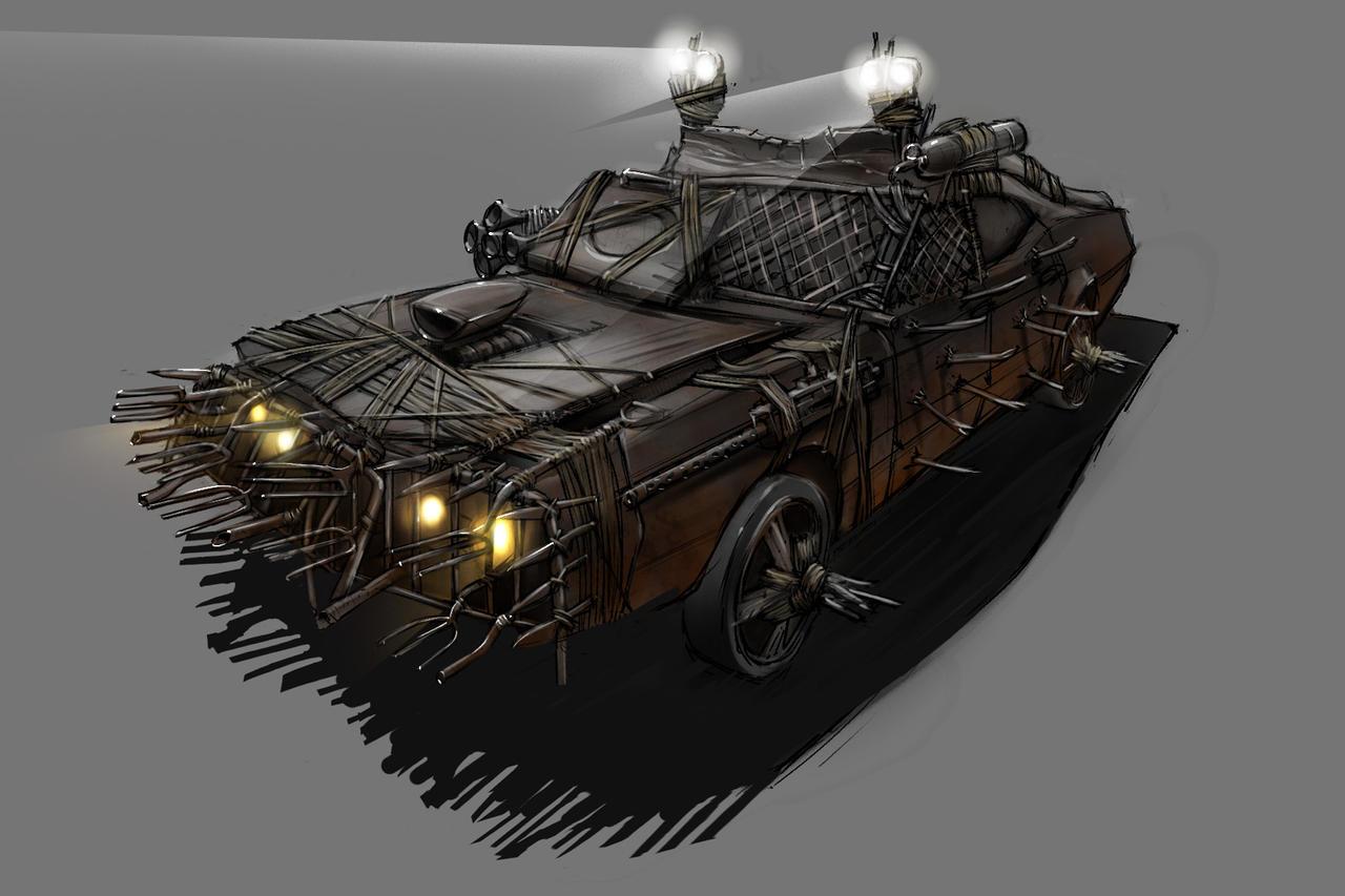 Antizombie car