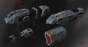 modular space fighter design