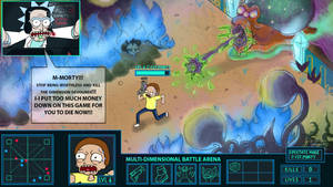 GOOD LUCK, KILL MORTY by chyell
