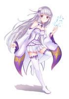 Emilia-tan by profnote