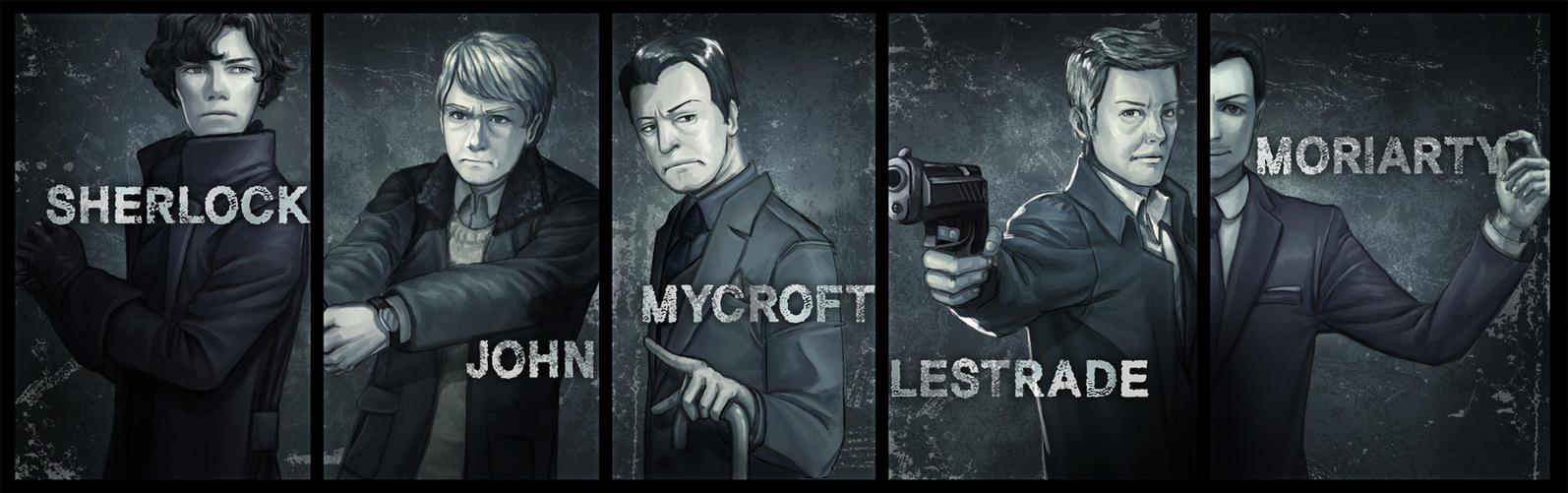 BBC Sherlock by JOprit