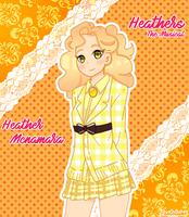 Heather Mcnamara (Heathers The Musical) by pastelaine-art