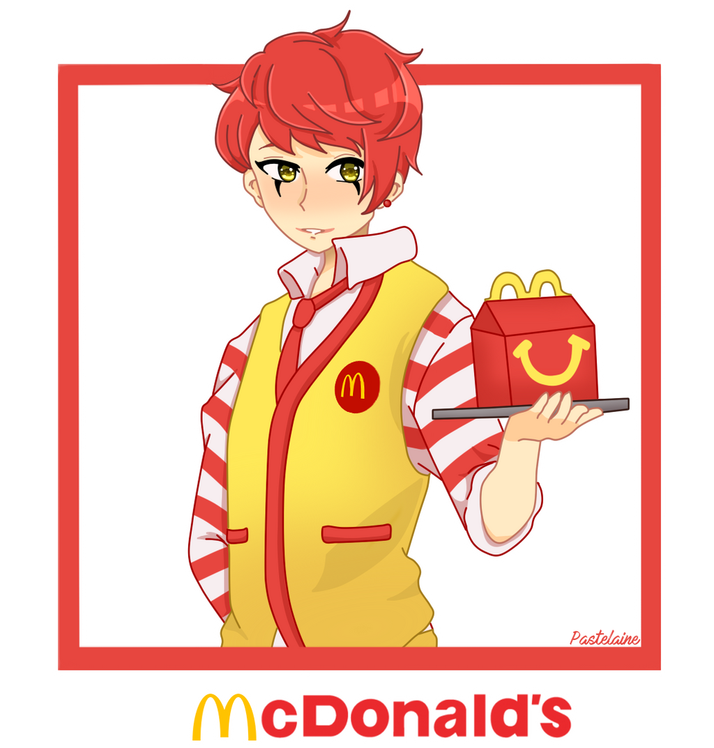 McDonalds (The Fast Food Family) by pastelaine-art