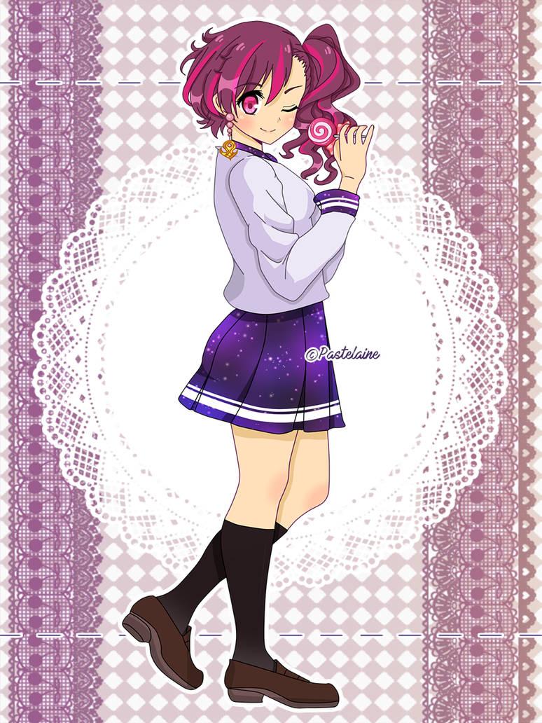 (C) Kay-ray-anime by pastelaine-art