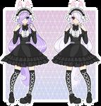 (AT) Yandere-Yuri  Custom Fullbody by pastelaine-art