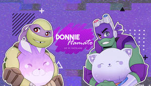 ROTTMNT and 2012TMNT Donnie