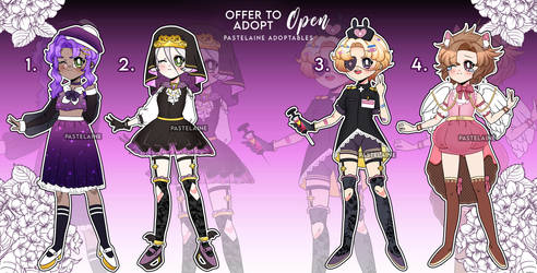 Rose Bride Offer To Adopt (1 OPEN) by pastelaine-art