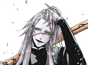 Undertaker Black Butler Eyes Kuroshitsuji The