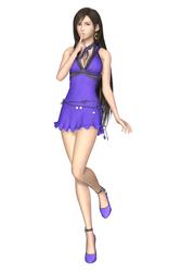 [MMD] FFVII Remake - Tifa Lockhart (Violet Dress)