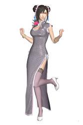 [MMD] FFVII Remake - Tifa Lockhart (China Dress)