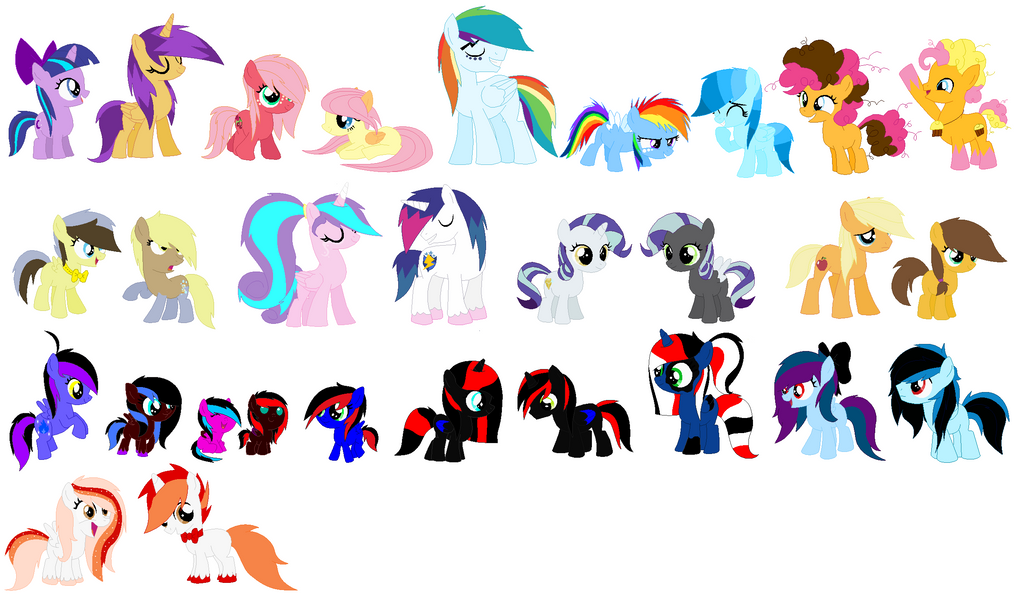 Mlp Next Gen And Ship Girl X Girl: All My Equestria Girls Ships By