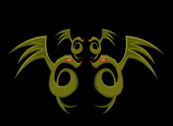 dragon by sandeepsinghyadav