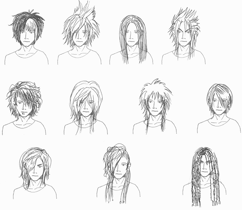 Visual Kei Hairstyles For Men 1 By Nalini Dahlia On Deviantart