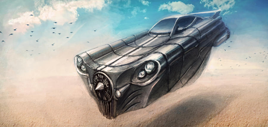 Desert Speeder by funkychinaman