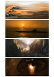 15-30 minute Speed Paintings