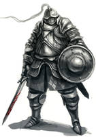 Gray Knight by funkychinaman