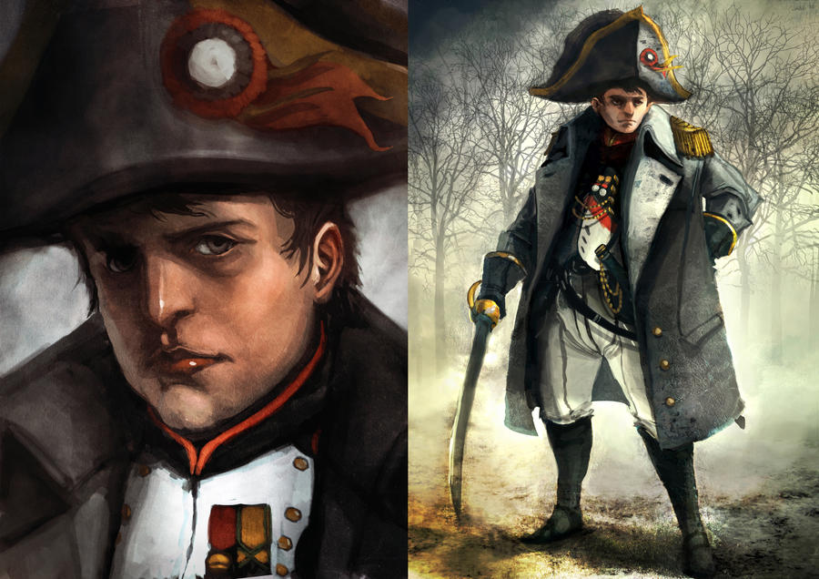 Napoleon Bonaparte by funkychinaman