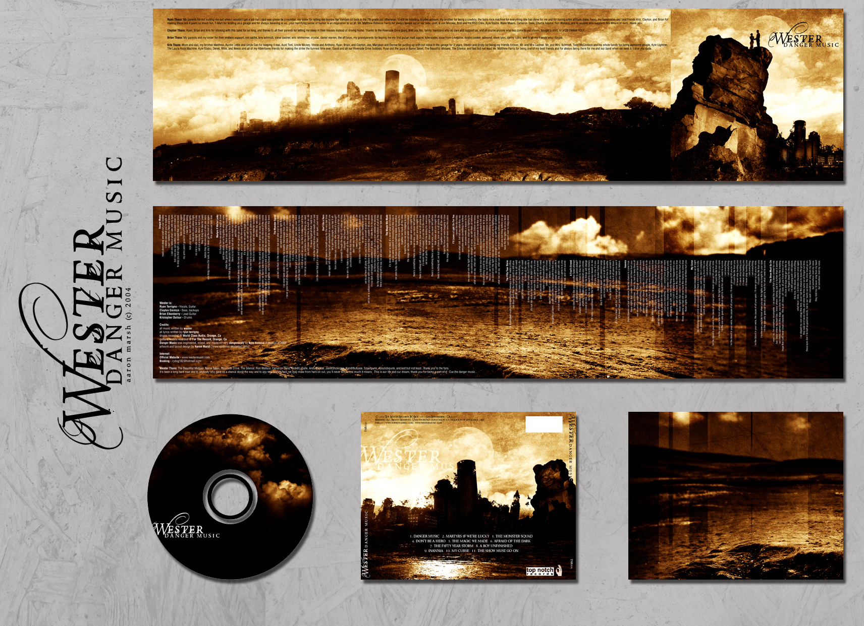 Wester Album Layout