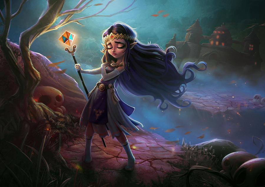 Princess Hilda by AmandaDuarte