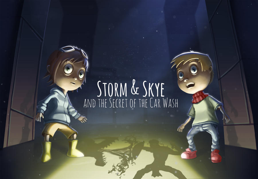 Storm and Skye by AmandaDuarte