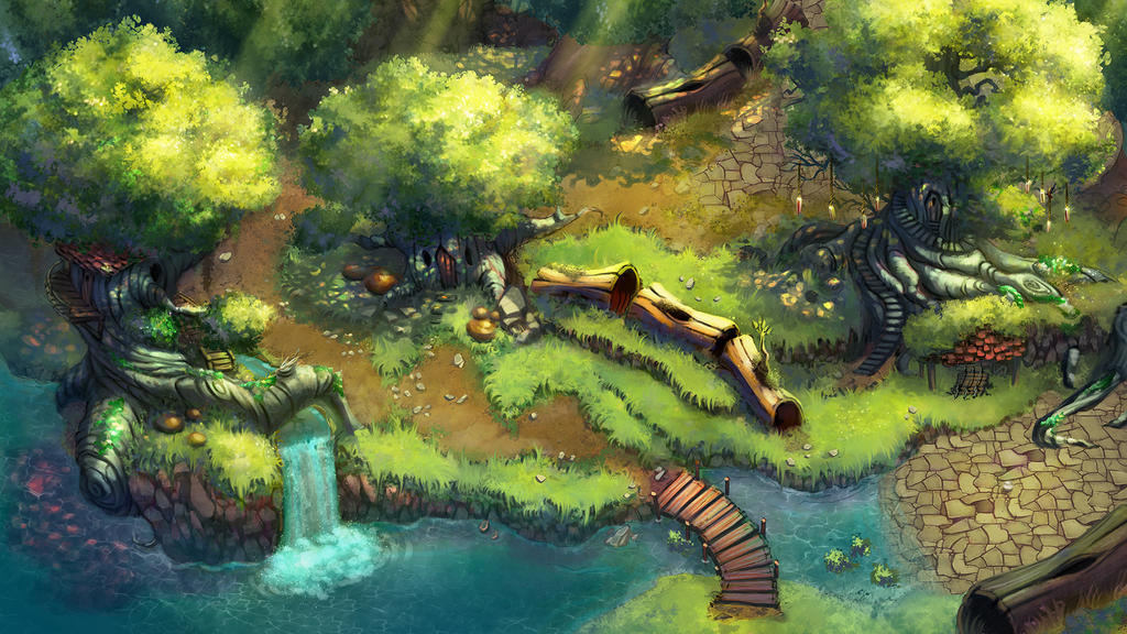 Rpg magical forest by amandaduarte on deviantart for Garden design generator
