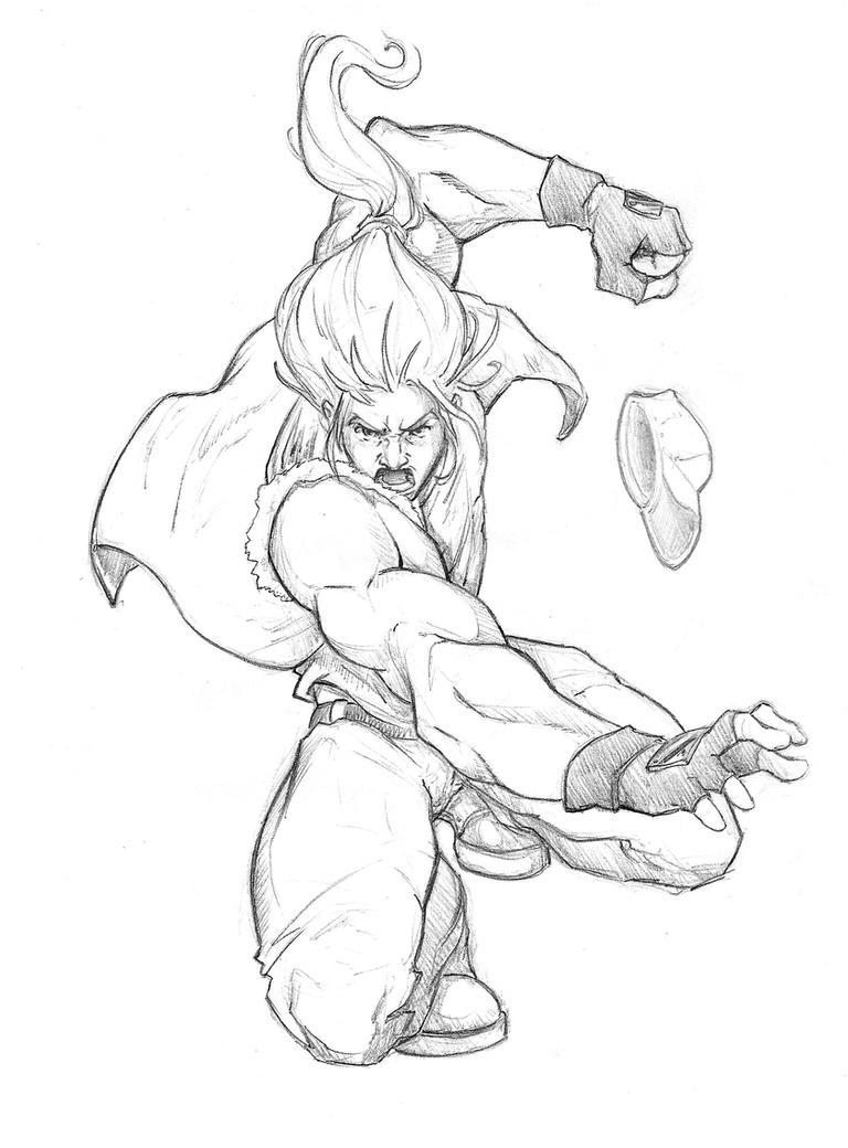 Terry Sketch by AmandaDuarte