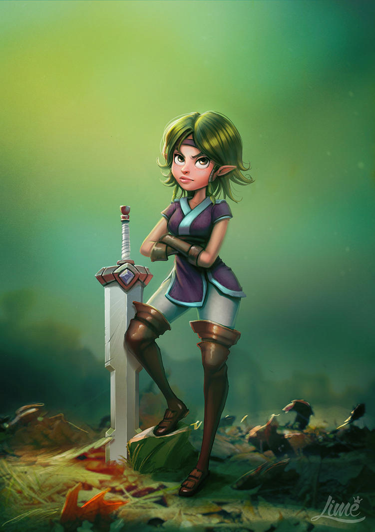 Sisterhood of the Warrior Fairies - Carmen by AmandaDuarte