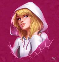 Spider-Gwen- Heroine Series by LimetownStudios